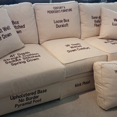 Upholstery language - all about cushions