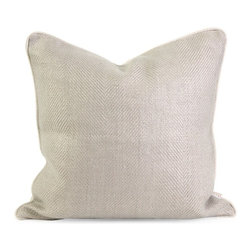 IMAX CORPORATION - IK Winema Linen Pillow w/ Down Fill - Iffat Khan has developed a luxurious collection of down pillows with linen fabrics. Iffates refined aesthetic is evident in her collection which combines clean modern, classic casual and timeless traditional styles with her own creative twist. Find home furnishings, decor, and accessories from Posh Urban Furnishings. Beautiful, stylish furniture and decor that will brighten your home instantly. Shop modern, traditional, vintage, and world designs.