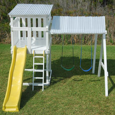 Contemporary Kids Playsets And Swing Sets by David Ballinger
