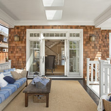 Traditional Porch by Carolyn Woods Design Inc.