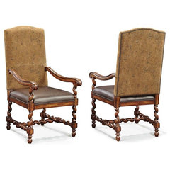 traditional dining chairs and benches by Childress Old World Furniture, Corp