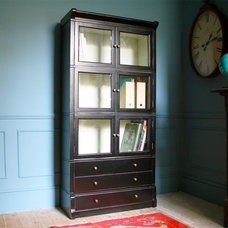 Eclectic Pantry Cabinets by Graham and Green