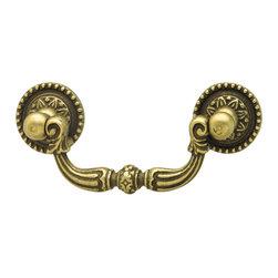 Hafele - Hafele 125.00.101 Brass Drawer Pulls - Hafele item number 125.00.101 is a beautifully finished Brass Drawer Pull.