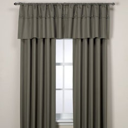 Supreme Blackout - Orlando Kid Artichoke Insulated Window Curtain Panels - These beautiful rod pocket window curtain panels are both decorative and quite useful as they are insulated with a durable thermal foam backing that provides energy-saving insulation, room-darkening qualities and noise-reduction.