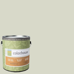 Inspired Flat Interior Paint, Bisque .05, Gallon - Colorhouse paints are zero VOC, low-odor, Green Wise Gold certified and have superior coverage and durability. Our artist-crafted colors are designed to be easy backdrops for living. Colorhouse paints are 100% acrylic with no VOCs (volatile organic compounds), no toxic fumes/HAPs-free, no reproductive toxins, and no chemical solvents.