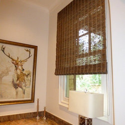 Recently Installed - Woven Shades -