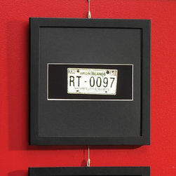 """Exposures - Panoramic Modular Wall Frame with Black Mat - Overview This black wood photo frame is a paragon of versatility. Arrange a dramatic square grouping by combining assorted square and rectangle photo frames. The possibilities are perfectly pleasing. Features Solid wood frame Black frames with black mat Vertical or Horizontal Wall display only   Specifications Panoramic frame holds a 4"""" x 10"""" photo and measures 14"""" wide x 14"""" high"""