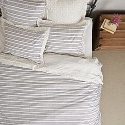 Anthropologie - Striped Mandala  Duvet - *Cotton