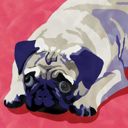 WL - 15 x 15 Inch Square Pop Art Inspired Pug Puppy Dog Canvas Wall Art - This gorgeous 15 x 15 Inch Square Pop Art Inspired Pug Puppy Dog Canvas Wall Art has the finest details and highest quality you will find anywhere! 15 x 15 Inch Square Pop Art Inspired Pug Puppy Dog Canvas Wall Art is truly remarkable.