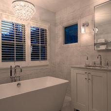 Traditional Bathroom by Michaelson Homes LLC