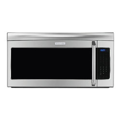 """30"""" Over-the-Range Microwave Oven - 30"""" Over-the-Range Microwave Oven EI30SM55JSThis extra-large 2.1 cu.ft. capacity microwave features Cook-2-Perfection® technology, a three-speed hood fan, 15 Sensor Touch options, 6 shortcut options, 15 Auto Cook options and 5 Auto Defrost options."""