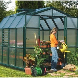 Rion Grand Gardener Greenhouse Twin Wall Extension - Give yourself more space to grow your plants without investing in another greenhouse with the Rion Grand Gardener Greenhouse Twin Wall Extension. Well-made with weatherproofed, UV-stabilized roof panels and a frame crafted from durable resin, the polycarbonate panels diffuse bright sunlight. This wall extension is as well-made as the original greenhouse.
