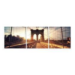 Elementem Photography - Brooklyn Sunset Print - Mounting Instructions: