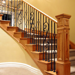 Customer Projects Iron Balusters -