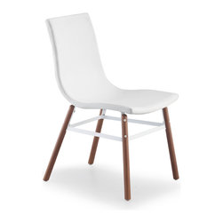 ZUO MODERN - Stavanger Chair White Leatherette (set of 4) - Stavanger Chair White Leatherette