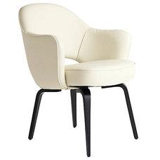 Saarinen Executive Armchair - Wood Legs - Design Within Reach