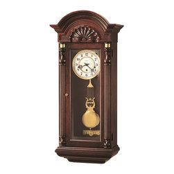 Howard Miller - Howard Miller Triple Chime Key Wound Vintage Wall Clock | JENNISON - 612221 Jennison