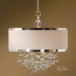 "21908 Fascination, 3 Lt Hanging Shade by uttermost - Get 10% discount on your first order. Coupon code: ""houzz"". Order today."