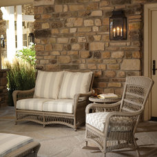 Traditional Outdoor Sofas by Lloyd Flanders