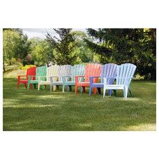 Contemporary Adirondack Chairs by hardwareonlinestore.com