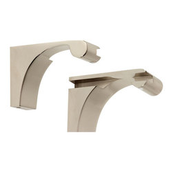 Alno Inc. - Shelf Brackets Only (Priced Per Pair) (ALNA6850-PN) - Shelf Brackets Only (Priced Per Pair)