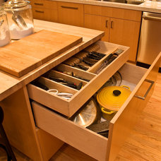 Modern Cabinet And Drawer Organizers by Big Branch Woodworking