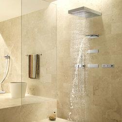 Online shopping for modern furniture decor and home improvement - Dornbracht horizontal shower ...