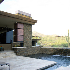 Contemporary Pool by Tate Studio Architects