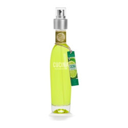 Cucina - Cucina Fragrant Kitchen Mist - Lime Zest & Cypress - 3.3 fl oz - Crisp, sunny notes of effervescent lime zest mingle with green, naturally aromatic cypress to create a fragrance thats irresistibly fresh. It's delightful bouquet of fresh lime zest and woodsy cypress notes marries perfectly with the aroma of pasta, seafood and white meat. This kitchen fragrant mist is water based. Due to its exclusive waterbased formula, the spray may leave a mist on surfaces that dry in just a few minutes. Formulated without DE/DEH phthalate, formaldehyde and benzeneIts cutting edge formula is easy on the air we breathe and minimizes harmful emissions without compromising on fragrance quality or strength. Fragrance: Lime Zest and Cypress Size: 3.3 fl. oz fl.oz