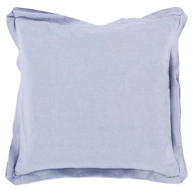 """Surya - Surya TF-008 Simple Sophistication Pillow, 22"""" x 22"""", Poly Fiber Filler - Fill your room with cool, calming comfort with these vibrant pillows! Featuring a burst of charming color in luscious lavender, this piece will fashion a look that is both functional from space to space as well as aesthetically pleasing to all who it encounters. This pillow contains a zipper closure and provides a reliable and affordable solution to updating your home's decor. Genuinely faultless in aspects of construction and style, this piece embodies impeccable artistry while maintaining principles of affordability and durable design, making it the ideal accent for your decor."""