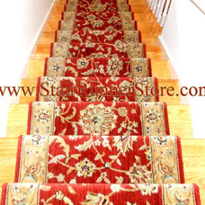Traditional Carpet Tiles by The Stair Runner Store - Creative Carpet & Rug LLC
