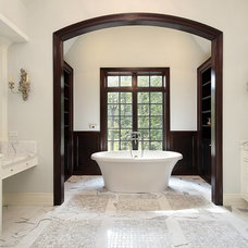 Traditional Bathroom Countertops by AAA Hellenic Marble