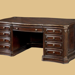 ART Furniture - Grand European Desk - ART-171431-2606 - Grand Collection Desk