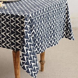 Anthropologie - At-An-Angle Tablecloth - *By Block & Brayer