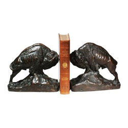 EuroLux Home - Large Bookends Bookend King Prairie Full - Product Details