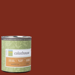 Inspired Flat Interior Paint, Wood .03, Quart - Colorhouse paints are zero VOC, low-odor, Green Wise Gold certified and have superior coverage and durability. Our artist-crafted colors are designed to be easy backdrops for living. Colorhouse paints are 100% acrylic with no VOCs (volatile organic compounds), no toxic fumes/HAPs-free, no reproductive toxins, and no chemical solvents.