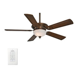 "Casablanca - Casablanca 59061 Whitman 54"" 5 Blade Ceiling Fan - Blades and Light Kit Included - Included Components:"