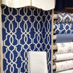 Trellis and Lattice Wallcovering - Ashford Geometrics by York Wallcoverings