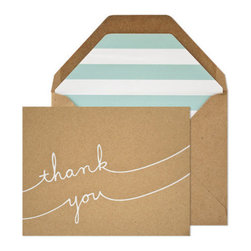 Sugar Paper Thank You Set - Handwritten notes are always best! I always have a box at hand for writing thank yous.
