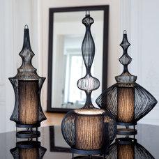 Asian Pendant Lighting by Biju Home