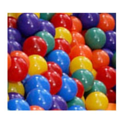 Blast Zone - Blast Zone Ball Pit Balls-150 Ct. Pack - INF-PLAYBALLS150 - Shop for Balls from Hayneedle.com! The Blast Zone Pit Balls is a 150-count pack of all-purpose play balls. These colorful play balls are safe and great fun for kids of all ages. Use them to fill ball pits to play with in bounce houses to shoot baskets and more - your imagination is the limit! Includes a handy carrying bag for easy cleanup and storage. Lead-free products: A note from Blast ZoneRecent allegations by the state of California against producers and distributors of inflatable bounce products concerning illegal lead concentrations are of great concern to us and our customers. Blast Zone products are not included in these allegations. All Blast Zone products meet or exceed US and international laws and standards and contain no lead in the material printing substrate or any components whatsoever. Blast Zone diligently adheres to testing standards to ensure a safe product for the consumer and provides items retailers can be confident stocking and selling. While Blast Zone does produce commercial inflatables and Blast Zone residential products utilize a substantial amount of commercial-grade materials our commercial vinyl also meets or exceeds these same international standards for lead phthalates and other contaminants and heavy metals. Why Blast Zone?With their main focus on safety Blast zone manufactures the strongest bouncers in the industry and creates the most exciting designs available. Using 100% commercial-grade impact surfaces the material used in Blast Zone's bouncers is nine times stronger than what's used on average inflatables. Bounce floors and slides use large seamless commercial material so they have fewer seams with less chance of separation. Blast Zone bouncers are reinforced in stress areas to make them twice as durable as typical inflatables and they use X-Weave material with extremely high tensile strength in all directions. Each Blast Zone inflatable is inspected seven times during construction to ensure it meets the strictest quality and safety standards. Their safety netting is twice as thick as the industry standard and soft so it won't scratch or cut bouncers. Each Blast Zone product is designed with your child's safety in mind. They incorporate balanced product distribution safe climbing surfaces safe slide heights and more. Finally they provide breathable storage cases. Blast Zone's carrying cases allow moisture to dissipate from inflatables rather than keeping it locked inside leading to mildew. About Blast ZoneBlast Zone has been making safe toys for kids all over the world since 1996. For over a decade they've designed and manufactured compliant hazard-free toys for major licensors and retailers including Disney Warner Brothers Dreamworks Marvel Porchlight Entertainment and more. The same principles of quality and safety that have applied to their toys also apply to Blast Zone inflatables. The mission of Blast Zone inflatables is simple: provide safe fun affordable inflatables and make kids dreams come true.