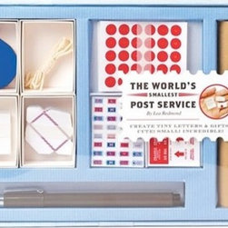 World's Smallest Post Service - Future writers will flourish with the world's smallest post service around. A great way to teach your kid the ins and outs of snail mail in the world of email, fax machines and texting.