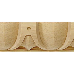 """Inviting Home - Hamilton Carved Wood Molding - 5/8""""H - panel wood molding 5/8""""H x 3/8""""P x 8'00""""L sold in 8 foot length 4 piece minimum order required Wood panel molding specifications: Outstanding quality molding profile carved from high grade kiln dried solid European beech wood. High relief decorative design is machine carved. Wood molding is sold unfinished and can be easily stained painted or glazed. The installation of the wood molding should be treated the same manner as you would treat any wood molding: all molding should be kept in a clean and dry environment away from excessive moisture. acclimate wooden moldings for 5-7 days. when installing wood moldings it is recommended to nail molding securely to studs; pre-drill when necessary and glue all mitered corners for maximum support."""