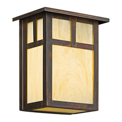 Kichler - Kichler Alameda Outdoor Wall Mount Light Fixture in Canyon View - Shown in picture: Outdoor Wall Pocket 1Lt in Canyon View