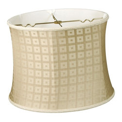 Royal Designs, Inc. - Bell Drum Designer Lampshade - This Bell Drum Designer Lampshade is a part of Royal Designs, Inc. Timeless Designer Shade Collection and is perfect for anyone who is looking for an elegant yet detailed lampshade. Royal Designs has been in the lampshade business since 1993 with their multiple shade lines that exemplify handcrafted quality and value.