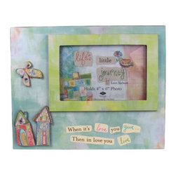 """WL - """"In Love You Live"""" 4 x 6"""" Photo Frame with 2 Houses Desktop Decoration - This gorgeous """"In Love You Live"""" 4 x 6"""" Photo Frame with 2 Houses Desktop Decoration has the finest details and highest quality you will find anywhere! """"In Love You Live"""" 4 x 6"""" Photo Frame with 2 Houses Desktop Decoration is truly remarkable."""