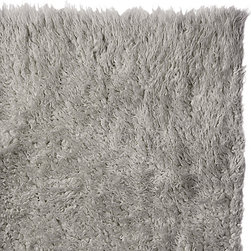 Super Area Rugs - Pure Eco-Friendly Wool Flokati Shag Rug, Grey, 3' X 5' - When you buy a Flokati Rug from SuperAreaRugs.com, you can rest assured you will be getting the finest in Greek Flokati Rugs. We are a direct import of the famous shag rug known as the Flokati rug. These wool shag rugs are made using centuries-old weaving processes that were used by ancient Greek warriors and sheep herders during the cold winter month. Hand-made from 100% New Zealand Wool, these rugs offer the softest feeling underfoot. The Flokati rug is very popular for apartments and studios as they help keep floor noise to a minimum. Other applications include living rooms, dining rooms and nursery rooms due to their unique fluffy softness and natural wool material.