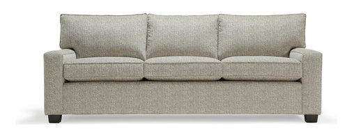 """Mitchell Gold + Bob Williams - Alex 79"""" Sofa - Small in scale but big on comfort, this sofa is styled with track arms for a clean, streamlined silhouette. It's a great basic that's anything but — one that'll fit right in with your modern interiors."""