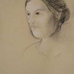 """Portrait of Elizabeth"" Artwork - This is a portrait of my wife Elizabeth."