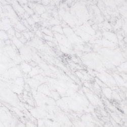Bianco Carrara Marble, Polished - Sold per Piece - Each Piece 2.25 Square Feet